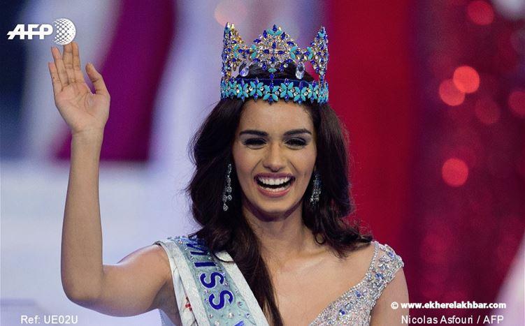 طالبة ''طب'' هندية تتوج بلقب ملكة جمال العالم